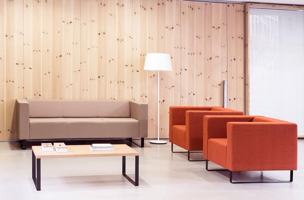 Sala de espera t cnica de oficina for Outlet mobiliario oficina