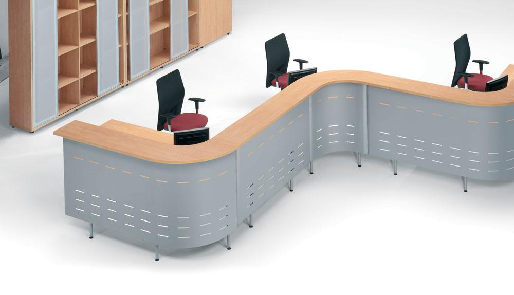 Mobiliario recepci n t cnica de oficina for Mobiliario de oficina recepcion