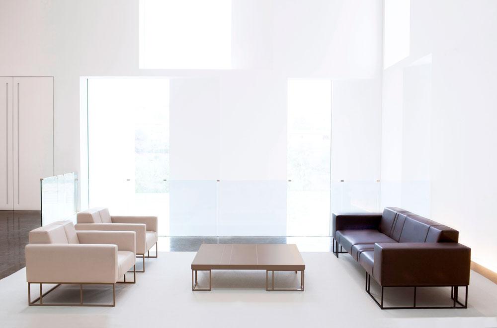 Sala de espera t cnica de oficina for Especificaciones tecnicas de mobiliario de oficina