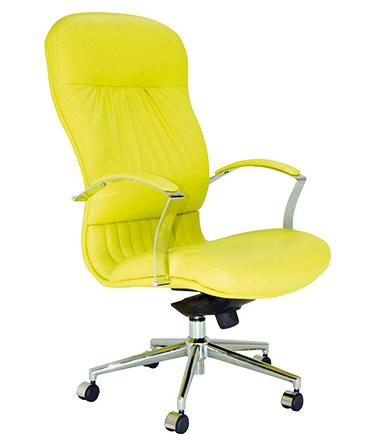 Sillon-de-Direccion-JOHN-Amarillo  - Mobiliario de Oficina