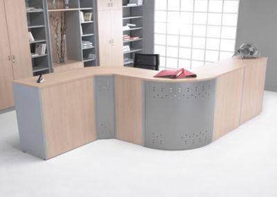 mostradorarco-400x284  - Mobiliario de Oficina