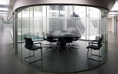 Mamparas para sala de reuniones