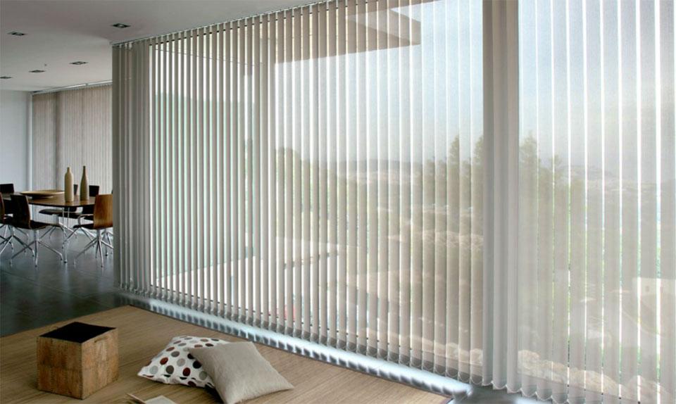 Persiana-Vertical-traslucida Estores  - Mobiliario de Oficina