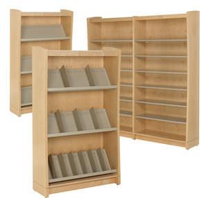 estanterias-para-bibliotecas  - Mobiliario de Oficina